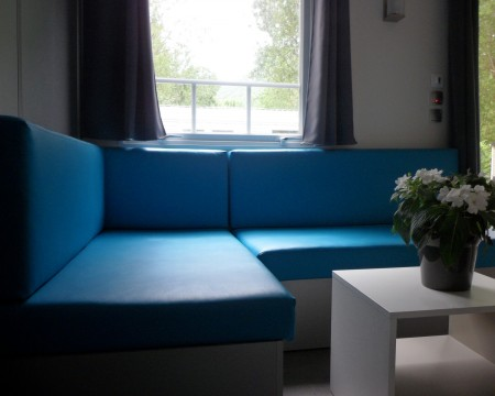 interieur bleu turquoise