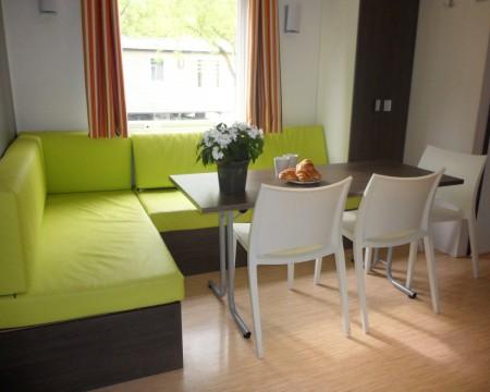 interieur salon vert