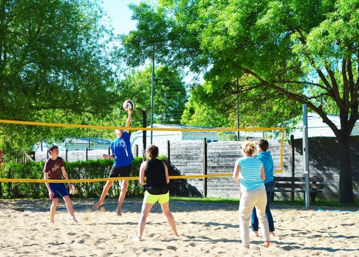 Beach volley rivages